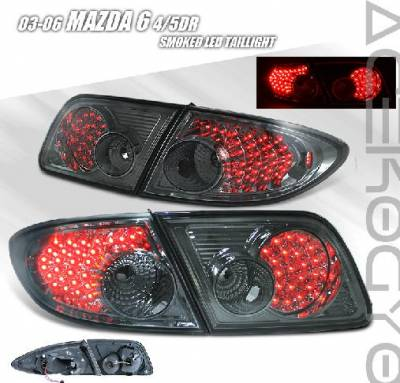 Headlights & Tail Lights - Tail Lights - Custom - Smoked LED Tail Lights