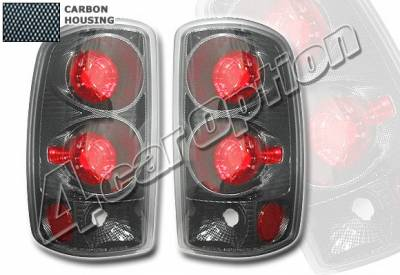Headlights & Tail Lights - Tail Lights - 4 Car Option - Chevrolet Tahoe 4 Car Option Altezza Taillights - Carbon Fiber Style - LT-GYD01F-YD