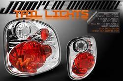 Headlights & Tail Lights - Tail Lights - Custom - Chrome Altezza Flareside Lights
