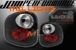 Headlights & Tail Lights - Tail Lights - Custom - Black Altezza Flareside Lights