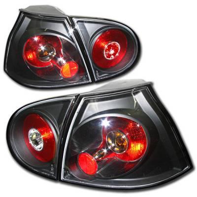 Headlights & Tail Lights - Tail Lights - Custom - Euro Black Altezza Tail lights