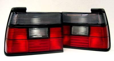 Headlights & Tail Lights - Tail Lights - Custom - VW Jetta Smoked Red Tail Lights