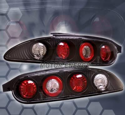 Headlights & Tail Lights - Tail Lights - Custom - Black Euro Altezza Tail Lights
