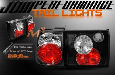Headlights & Tail Lights - Tail Lights - Custom - Black Altezza Tail Lights