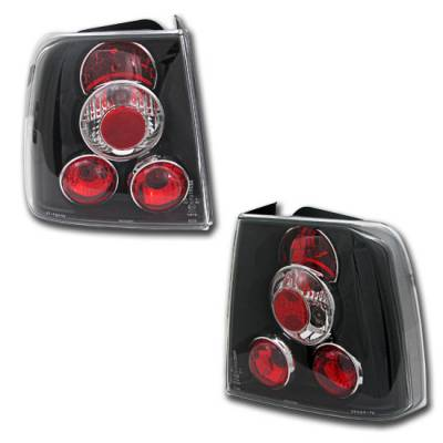 Headlights & Tail Lights - Tail Lights - Custom - VW PASSAT 4DR ALTEZZA TAIL LIGHTS