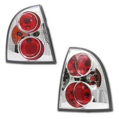 Headlights & Tail Lights - Tail Lights - Custom - Passat 4DR Chrome Tail Lights