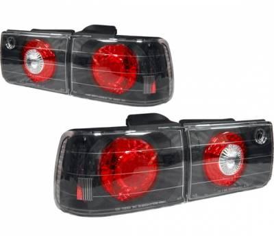 Headlights & Tail Lights - Tail Lights - 4 Car Option - Honda Accord 4 Car Option Altezza Taillights - Black - LT-HA92JB-YD