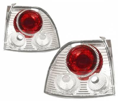 Headlights & Tail Lights - Tail Lights - 4 Car Option - Honda Accord 4 Car Option Altezza Taillights - V3 - Chrome - LT-HA94A2-YD