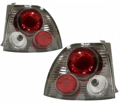Headlights & Tail Lights - Tail Lights - 4 Car Option - Honda Accord 4 Car Option Altezza Taillights - V3 - Gunmetal - LT-HA94G2-YD