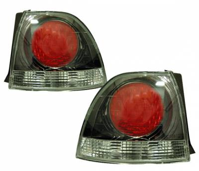 Headlights & Tail Lights - Tail Lights - 4 Car Option - Honda Accord 4 Car Option Altezza Taillights - Gunmetal - LT-HA94G-YD