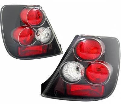 Headlights & Tail Lights - Tail Lights - 4 Car Option - Honda Civic HB 4 Car Option Altezza Taillights - Black - LT-HC03JB-YD