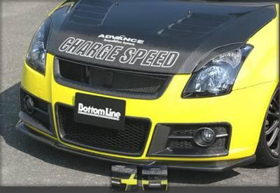 Swift - Front Bumper - Chargespeed - Suzuki Swift Chargespeed Bottom Line Front Lip