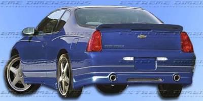 Monte Carlo - Rear Lip - Custom - Racer Rear Lip