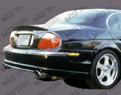 S Type - Rear Lip - Custom - Invader Rear Lip
