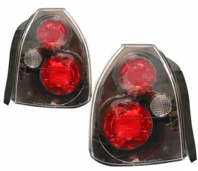 Headlights & Tail Lights - Tail Lights - 4 Car Option - Honda Civic HB 4 Car Option Altezza Taillights - Gunmetal - LT-HC963G-YD