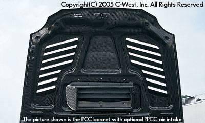 Impreza - Hoods - C-West - Zenki Super Aero Bonnet With Louver