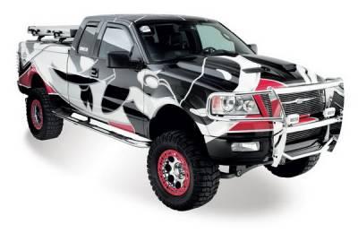 Suv Truck Accessories - Running Boards - Westin - Nissan Frontier Westin Platinum Series Step Bars - 26-2730