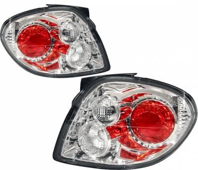 Headlights & Tail Lights - Tail Lights - 4 Car Option - Hyundai Tiburon 4 Car Option Altezza Taillights - Chrome - LT-HYTI00A-YD