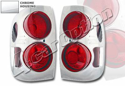 Headlights & Tail Lights - Tail Lights - 4 Car Option - Infiniti QX-4 4 Car Option Altezza Taillights - Chrome - LT-IQX401A-KS