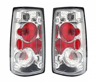 Headlights & Tail Lights - Tail Lights - 4 Car Option - Isuzu Rodeo 4 Car Option Altezza Taillights - Chrome - LT-IR91A-KS