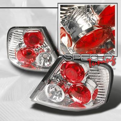 Headlights & Tail Lights - Tail Lights - Custom Disco - Nissan Altima Custom Disco Chrome Taillights - LT-ALT-98-YD