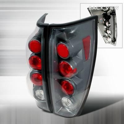Headlights & Tail Lights - Tail Lights - Custom Disco - Chevrolet Avalanche Custom Disco Smoke Taillights - LT-AVA02CF-YD