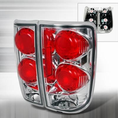 Headlights & Tail Lights - Tail Lights - Custom Disco - Chevrolet Blazer Custom Disco Chrome Taillights - LT-BLZ95-YD
