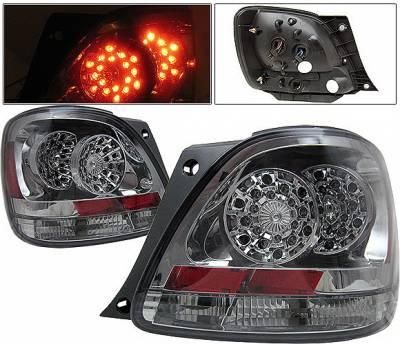 Headlights & Tail Lights - Led Tail Lights - 4 Car Option - Lexus GS 4 Car Option LED Taillights - Smoke - LT-LGS98LEDSM-KS
