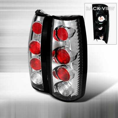 Headlights & Tail Lights - Tail Lights - Custom Disco - GMC C10 Custom Disco Chrome Taillights - LT-C1088-YD