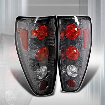 Headlights & Tail Lights - Tail Lights - Custom Disco - Chevrolet Colorado Custom Disco Carbon Taillights - LT-COL04CF-YD