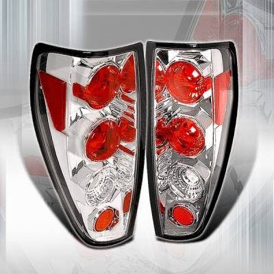 Headlights & Tail Lights - Tail Lights - Custom Disco - Chevrolet Colorado Custom Disco Chrome Taillights - LT-COL04-YD