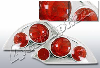 Headlights & Tail Lights - Tail Lights - 4 Car Option - Mitsubishi Eclipse 4 Car Option Altezza Taillights - Chrome - LT-ME00A-KS