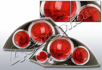 Headlights & Tail Lights - Tail Lights - 4 Car Option - Mitsubishi Eclipse 4 Car Option Altezza Taillights - Black - LT-ME00B-KS