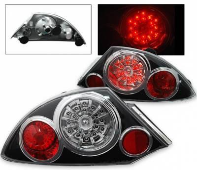 Headlights & Tail Lights - Led Tail Lights - 4CarOption - Mitsubishi Eclipse 4CarOption LED Taillights - LT-ME00LEDJB-KS