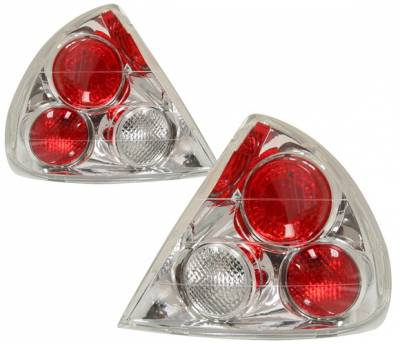 Headlights & Tail Lights - Tail Lights - 4 Car Option - Mitsubishi Mirage 4 Car Option Altezza Taillights - Chrome - LT-MM99A-YD
