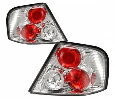 Headlights & Tail Lights - Tail Lights - 4 Car Option - Nissan Altima 4 Car Option Altezza Taillights - Chrome - LT-NA98A-YD