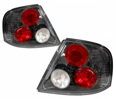Headlights & Tail Lights - Tail Lights - 4 Car Option - Nissan Altima 4 Car Option Altezza Taillights - Carbon Fiber Style - LT-NA98F-YD