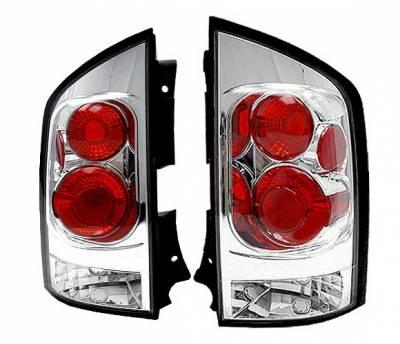 Headlights & Tail Lights - Tail Lights - 4 Car Option - Nissan Armada 4 Car Option Altezza Taillights - Chrome - LT-NAR04A-5