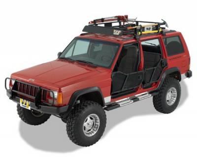 Suv Truck Accessories - Running Boards - Warrior - Jeep Cherokee Warrior Rock Barz Nerf Bar