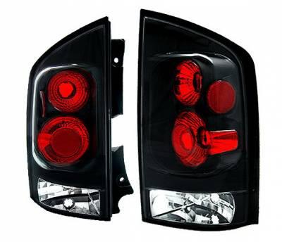 Headlights & Tail Lights - Tail Lights - 4 Car Option - Nissan Armada 4 Car Option Altezza Taillights - Black - LT-NAR04JB-5