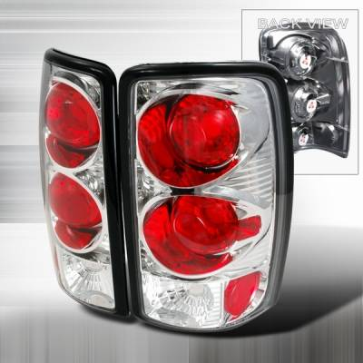 Headlights & Tail Lights - Tail Lights - Custom Disco - GMC Denali Custom Disco Chrome Taillights - LT-DEN00-YD
