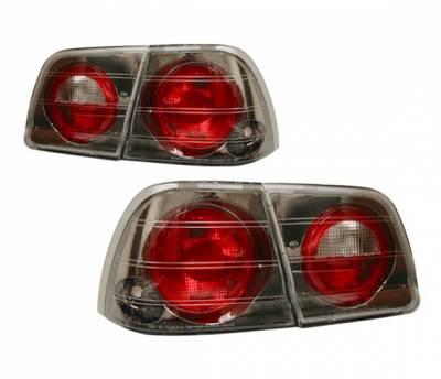 Headlights & Tail Lights - Tail Lights - 4 Car Option - Nissan Maxima 4 Car Option Altezza Taillights - Gunmetal - LT-NM95G-YD