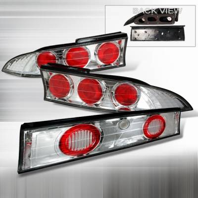 Headlights & Tail Lights - Tail Lights - Custom Disco - Mitsubishi Eclipse Custom Disco Chrome Taillights - LT-ELP953-YD