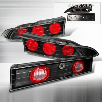 Headlights & Tail Lights - Tail Lights - Custom Disco - Mitsubishi Eclipse Custom Disco Altezza Taillights - LT-ELP95JM3-YD