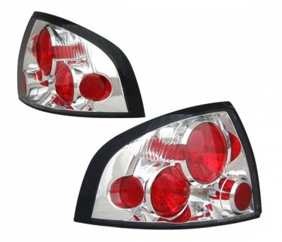 Headlights & Tail Lights - Tail Lights - 4 Car Option - Nissan Sentra 4 Car Option Altezza Taillights - Chrome - LT-NS00A-3
