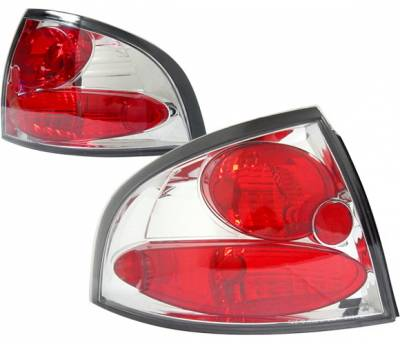 Headlights & Tail Lights - Tail Lights - 4 Car Option - Nissan Sentra 4 Car Option Altezza Taillights - Chrome - LT-NS00A-KS