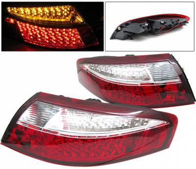 Headlights & Tail Lights - LED Tail Lights - 4CarOption - Porsche 911 4CarOption LED Taillights - LT-PSC98LEDRC-6
