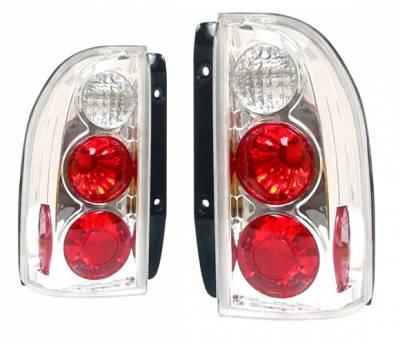 Headlights & Tail Lights - Tail Lights - 4 Car Option - Geo Tracker 4 Car Option Altezza Taillights - Chrome - LT-SV99A-KS