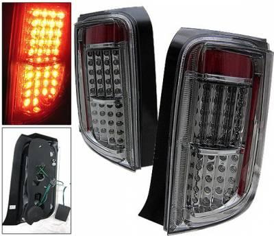 Headlights & Tail Lights - Led Tail Lights - 4 Car Option - Scion xB 4 Car Option LED Taillights - Smoke - LT-SXB03LEDSM-KS