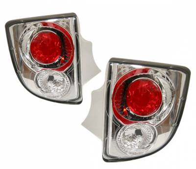 Headlights & Tail Lights - Tail Lights - 4 Car Option - Toyota Celica 4 Car Option Altezza Taillights - Chrome - LT-TC00A2-YD